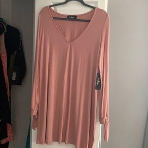 Lulu's long sleeve mini dress